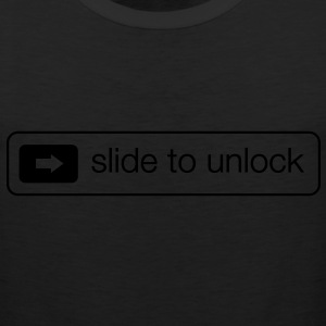 Slide to unlock T-Shirts - Men's Premium Tank