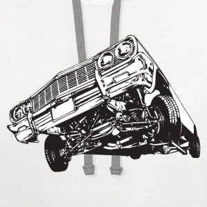 3 Wheel Stance HD Design T-Shirts - Contrast Hoodie