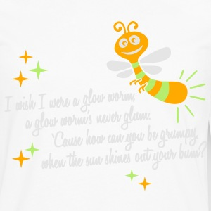 I wish I were a glow worm T-Shirts - Men's Premium Long Sleeve T-Shirt