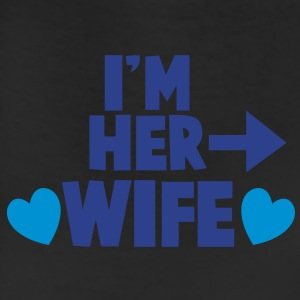 I'm her WIFE right arrow T-Shirts - Leggings