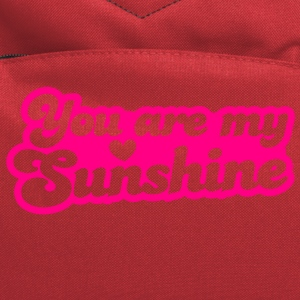 you are my sunshine with love heart T-Shirts - Computer Backpack