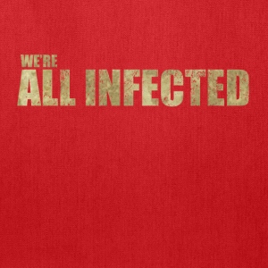 We're All Infected - The  | Robot Plunger - Tote Bag