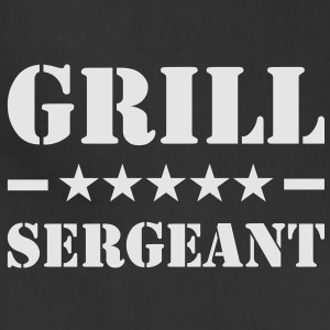 Grill Sergeant T-Shirt - Adjustable Apron