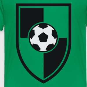 Soccer Blazon Logo 03.1_2c Kids' Shirts - Toddler Premium T-Shirt