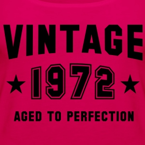 VINTAGE 1972 - Birthday T-Shirt HN - Women's Premium Tank Top