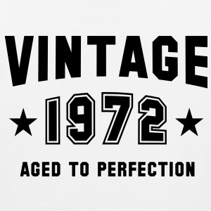VINTAGE 1972 - Birthday T-Shirt MY - Men's Premium Tank