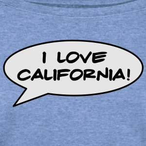 California T-Shirt - Women's Wideneck Sweatshirt