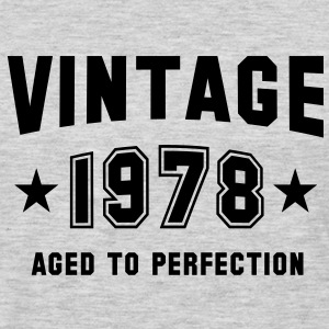 VINTAGE 1978 - Birthday T-Shirt BH - Men's Premium Long Sleeve T-Shirt