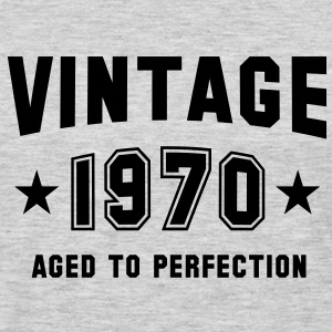VINTAGE 1970 - Birthday T-Shirt BH - Men's Premium Long Sleeve T-Shirt