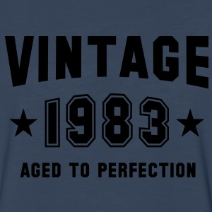 VINTAGE 1983 - Birthday T-Shirt WN - Men's Premium Long Sleeve T-Shirt