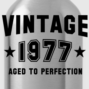 VINTAGE 1977 - Birthday T-Shirt WN - Water Bottle