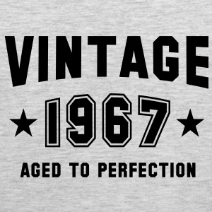 VINTAGE 1967 - Birthday T-Shirt BH - Men's Premium Tank