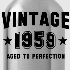 VINTAGE 1959 - Birthday T-Shirt WN - Water Bottle
