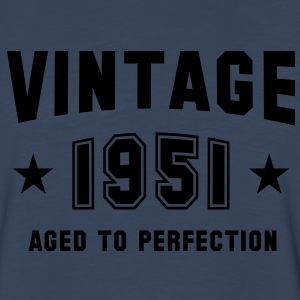 VINTAGE 1951 - Birthday T-Shirt WN - Men's Premium Long Sleeve T-Shirt