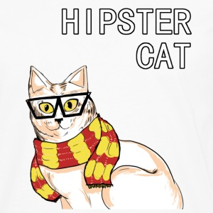 Hipster Cat - Men's Premium Long Sleeve T-Shirt