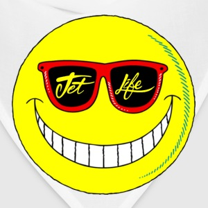 Jet Life Smiley Tee - Bandana