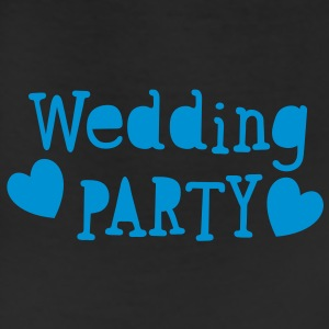 wedding party new vintage funky font T-Shirts - Leggings