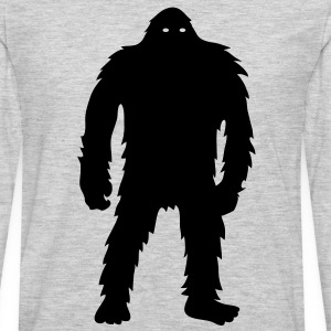 Bigfoot (Black) - Men's - Men's Premium Long Sleeve T-Shirt