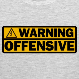 Warning Offensive - Men's Premium Tank