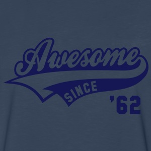 Awesome SINCE 1962 - Birthday Anniversaire T-Shirt HN - Men's Premium Long Sleeve T-Shirt