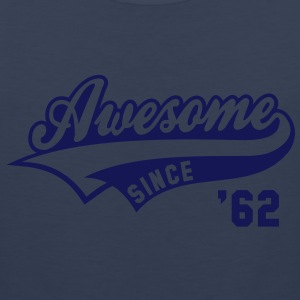 Awesome SINCE 1962 - Birthday Anniversaire T-Shirt HN - Men's Premium Tank