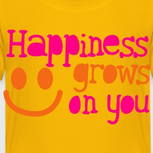 happiness grows on you Kids' Shirts - Toddler Premium T-Shirt