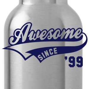 Awesome SINCE 99 Birthday Anniversary T-Shirt WN - Water Bottle