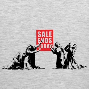 Banksy Sale Ends Today - Men's Premium Tank