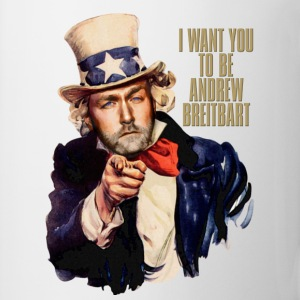 I want you to be Andrew Breitbart - Coffee/Tea Mug
