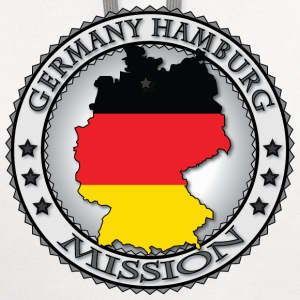 Germany Hamburg LDS Mission - Called to Serve - Contrast Hoodie