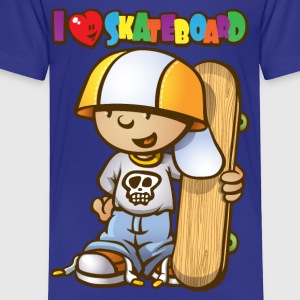 Baby skateboarder Kids' Shirts - Toddler Premium T-Shirt