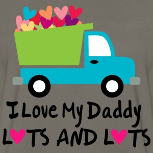 I Love My Daddy Lots and Lots Kids' Shirts - Men's Premium Long Sleeve T-Shirt