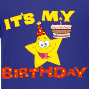It's My Birthday Kids T-shirts - Toddler Premium T-Shirt