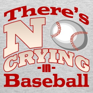 There's No Crying in Baseball T-Shirt - Men's Premium Tank
