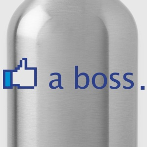 Like a Boss Funny - Water Bottle