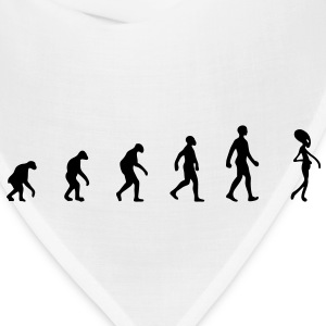 alien evolution, alien, extraterrestrial evolution, darwin evolution theory, ufo, unidentified flying object, chill, T-Shirts - Bandana