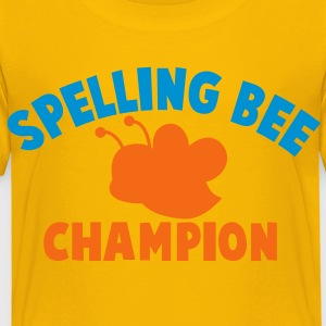 spelling bee bees champion Kids' Shirts - Toddler Premium T-Shirt