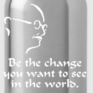 Gandhi – Change - Water Bottle