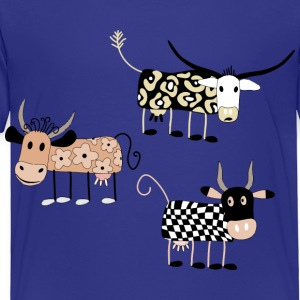 Cow Art Design - Toddler Premium T-Shirt