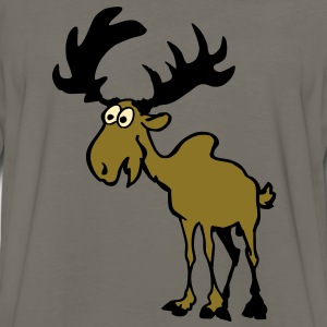 Moose Kids' Shirts - Men's Premium Long Sleeve T-Shirt