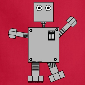 Robot Toddler Shirts - Adjustable Apron