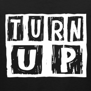 turn_up1 T-Shirts - Men's Premium Tank