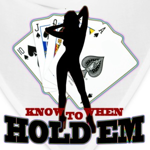 poker know when to hold em - Bandana