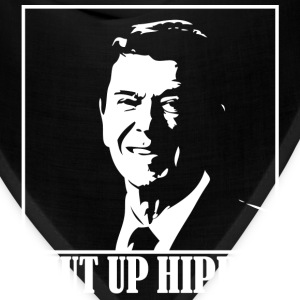 Ronald Reagan Says Shut Up Hippie! - Bandana