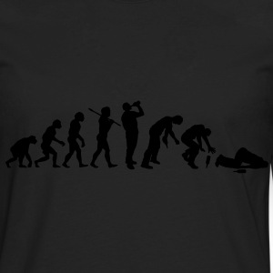The Evolution Of Drunk Man - Men's Premium Long Sleeve T-Shirt