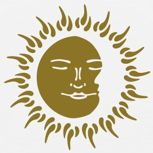 sun, moon T-Shirts - Men's Premium Tank
