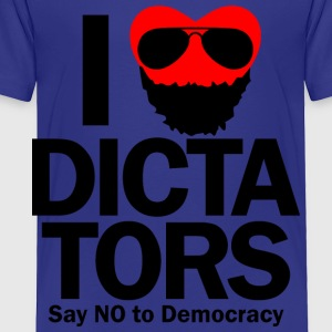 I HEART DICTATORS Kids' Shirts - Toddler Premium T-Shirt