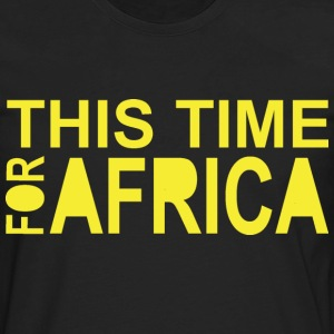 This Time For Africa - Men's Premium Long Sleeve T-Shirt