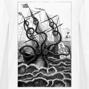 Poulpe Colossal T-Shirts - Men's Premium Long Sleeve T-Shirt