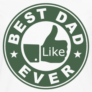 Best Dad Ever Thumbs Up - Men's Premium Long Sleeve T-Shirt